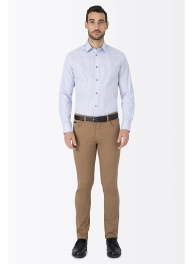 Hemington Slim Fit Kanvas Spor Pantolon Kahve